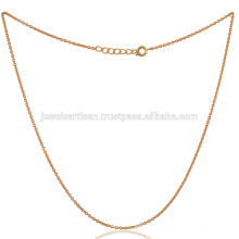 Brass Snake Chain Yellow Gold Toned Plating em 16 Inch Thin Size Fashion Gift