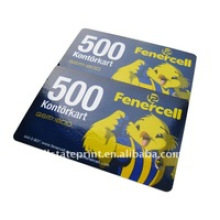 Prepaid Scratch Calling Card/Cell Recharge Cards