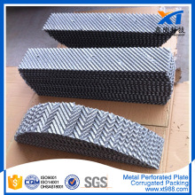 Metal Perforated Plate Corrugated Packing Tower Packing