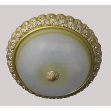 Потолочная лампа для смолы со стеклянным абажуром (SL92643-3)