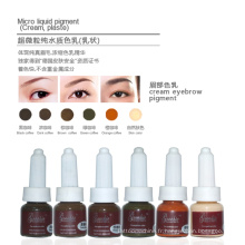 Pigments Microblading Sourcils Permanent Maquillage Encres