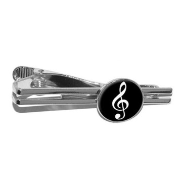 Novelty Music Note Symbol Tie Clip For Gift