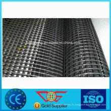 Géogrille de renfort revêtue de bitume de fibre de verre auto-adhésive ASTM D 5261