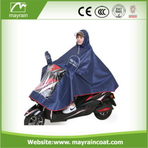 Poliéster Adulto Waterproof Motorcycle Rain Poncho