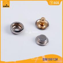 Bouton Snap en métal de haute qualité BM10812