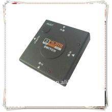Boîte Hub Switch 3 Port HDMI pour HDTV Game