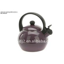 enamel whistling kettle