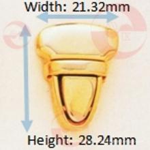 Proveedor confiable HK Super Thin Triangle Push Lock