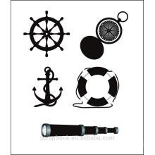 Ozean Schiff Clear Stamps für Sammelalbum