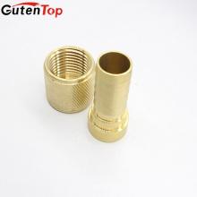 Connecteur en laiton de garnitures de mamelon d'OEM de haute qualité de GutenTop relient le tuyau flexible