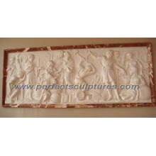 Stone Marble Sculpture Relief for Wall Hanging Art Decoration (SY-R032)