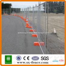 ISO9001 Anping Shunxing Factory Australie clôture temporaire standard