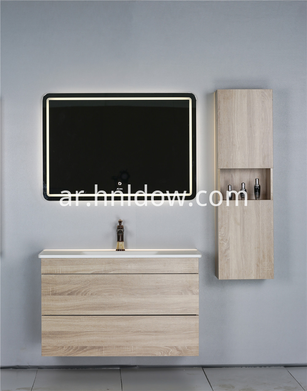 led bathroom mirror kit