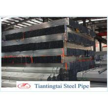 Section creuse laminée à chaud Tuyau en acier galvanisé