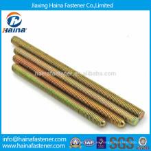 Varilla roscada de acero al carbono galvanizado