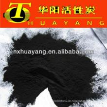 200 mesh pulverförmige Aktivkohle zur Abwasserreinigung