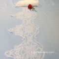 Off White Lace Trim Border Ribbon in vendita