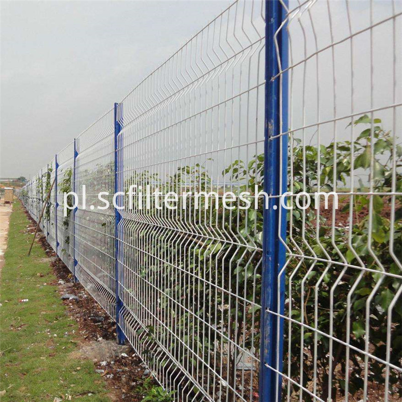 powder coated fence