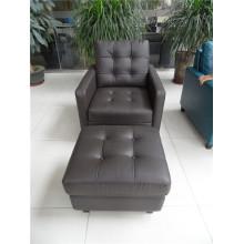 Sofá elétrico reclinável EUA L & P sofá do mecanismo para baixo do sofá (C456 #)