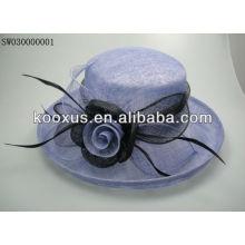 Дешевая промоакция sinamay hat, сделанная в Китае