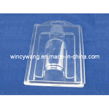 Blister transparente para botellas o cosméticos