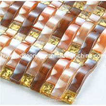 Стеклянная мозаичная настенная плитка (HGM259)