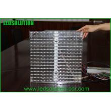 Telão LED de vidro para parede P10
