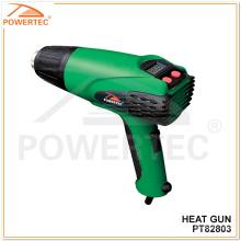 Powertec 2000W temperatura ajustável Electric Heat Gun (PT82803)