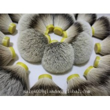 Extremidades suaves muy densas Silvertip Badger Hair Knots