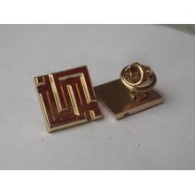 China atacado material de metal borboleta clutch lapel pin