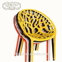 Restaurante nido moderno plástico hueco comedor comedor silla de ocio