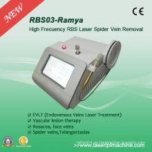 Rbs03 Remoción Vascular Extracción de la vena de araña 980nm Medical Diode Laser