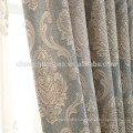 Luxury customized jacquard window curtain fabric