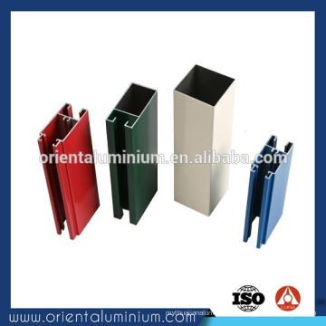 Perfil de alumínio para fazer portas e janelas