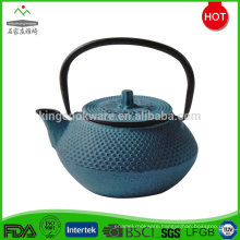 Hot selling customized enamel coated cast iron tea pot