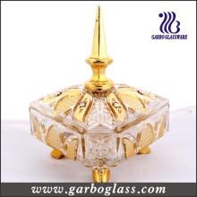 Überzug Golden Glass Candy Jar / Glas Jar
