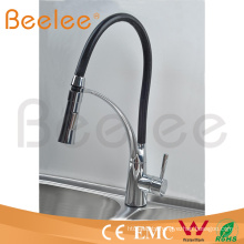 New Pull Down Water Flow Changing Jet Single Lever Handle Kitchen Tap Mixer (Q150514)