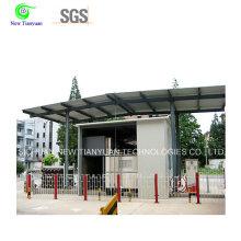 800-900m3min Station de remplissage mobile à gaz pour le remplissage des cylindres à gaz