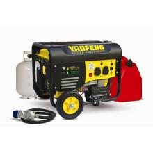 2500 Watts Electric Power Gasoline and LPG Generator with EPA, Carb, CE, Soncap Certificate (YFGP3500DE2)