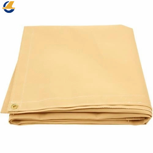 Yellow cotton canvas tarps