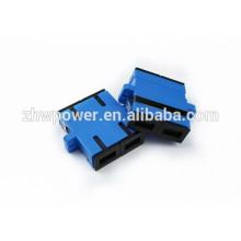 Высококачественный SC DX UPC оптоволоконный адаптер / оптоволоконная пара, изготовленная в Китае