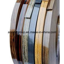 Borde del borde del PVC para el borde de la decoración / de la tabla con ISO9001