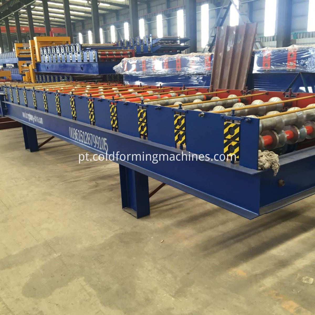 Rolling Roofing Machine