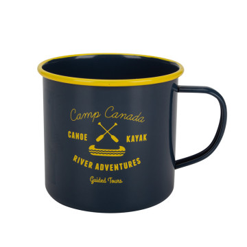 Classic Series Emaille Camping Kaffeetasse