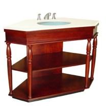 Gabinete de madera de la vanidad del cuarto de baño (B-54)