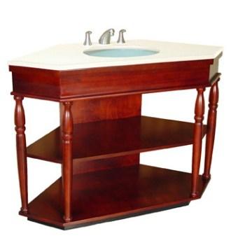 Wooden Bathroom Vanity Cabinet (B-54)