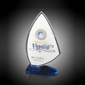Customizable Round Shape Acrylic Trophy