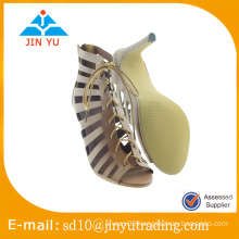 Cheap China factory price new design sex high heel sandal