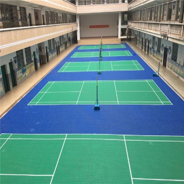 BWF Podłogi do badmintona Enlio Floors