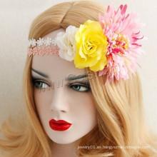 Gets.com Jeweled Lace Fábrica de Flores Hair Band